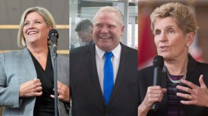 Ontario party leaders rely on fear factor with 3 days until election